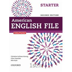 کتاب آموزش زبان انگلیسی American English File Starter 2nd Edition + CD