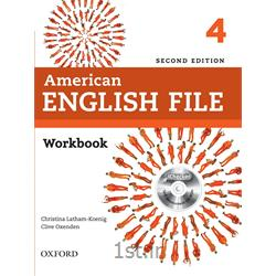 کتاب آموزش زبان American English File 4 Workbook 2nd Edition