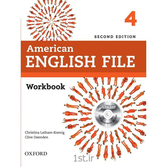 کتاب آموزش زبان American English File 4 Workbook 2nd Edition