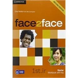 عکس آموزش زبانکتاب زبان انگلیسی Face 2 Face Starter Workbook with Key 2nd Edition