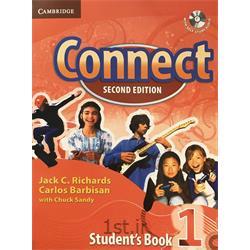 کتاب و سی دی آموزش زبان انگلیسی Connect 1 Student's Book 2nd Edition