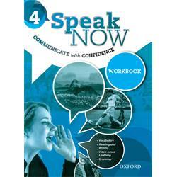 کتاب و دی وی دی آموزش زبان انگلیسی Speak Now 4 Workbook