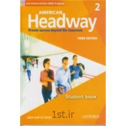 کتاب زبان انگلیسی American Headway 2 Student's Book 3rd Edition