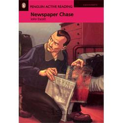 عکس آموزش زبانکتاب داستان انگلیسی به همراه سی دی Penguin EasyStarts: Newspaper Chase