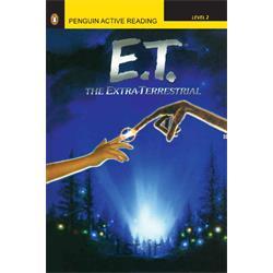 کتاب و سی دی داستان انگلیسی Penguin Level2: E.T. the extra-Terrestrial