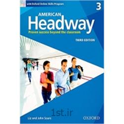 کتاب زبان انگلیسی American Headway 3 Student's Book 3rd Edition + CD