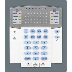 عکس دزدگیر و زنگ خطرصفحه کلید دزدگیر اماکن پارادوکس مدل کانادا Paradox K32LX