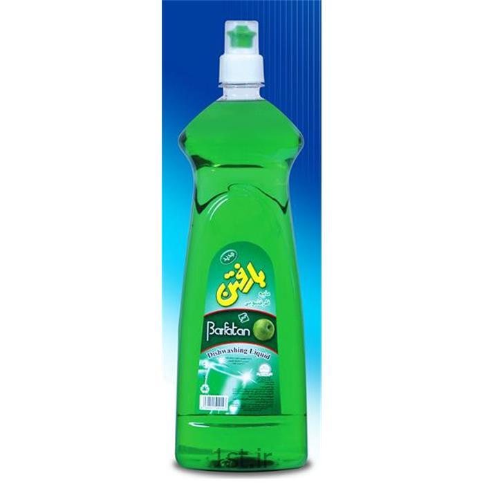 مایع ظرفشویی یک لیتری شفاف بارفتن ( Dishwashing Liquid Barfatan )