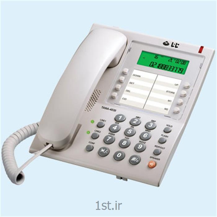 تلفن اداری تانا دو خط مدل 4030