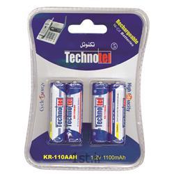 باتری شارژی قلمی تکنوتل