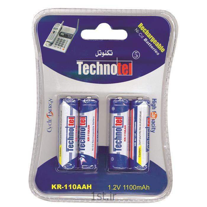 عکس باتری (باطری) قابل شارژباتری شارژی قلمی تکنوتل