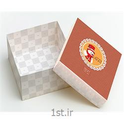 عکس جعبه بسته بندیچاپ جعبه شیرینی مقوایی