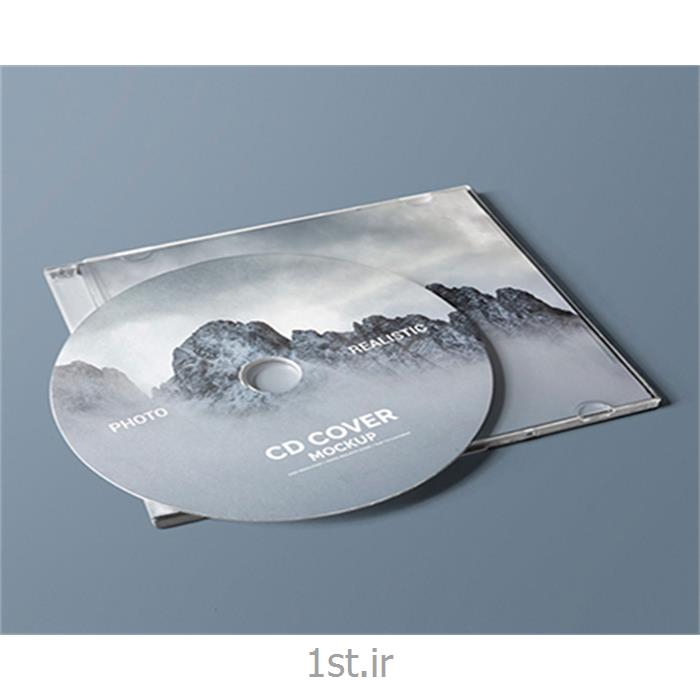 چاپ و رایت DVD  تبلیغاتی
