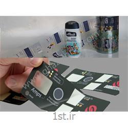 عکس برچسب بسته بندیلیبل شیشه ای-شفاف