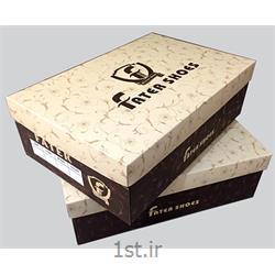 عکس جعبه بسته بندیچاپ جعبه کفش مقوایی