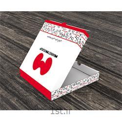 عکس جعبه بسته بندیچاپ جعبه  پیتزا  یکنفره