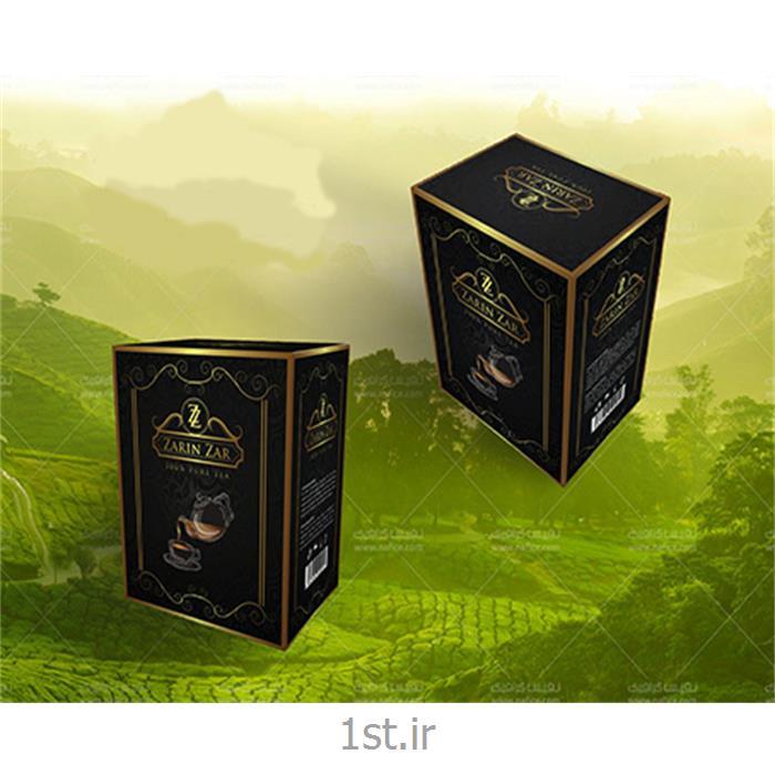 چاپ جعبه چای مقوایی