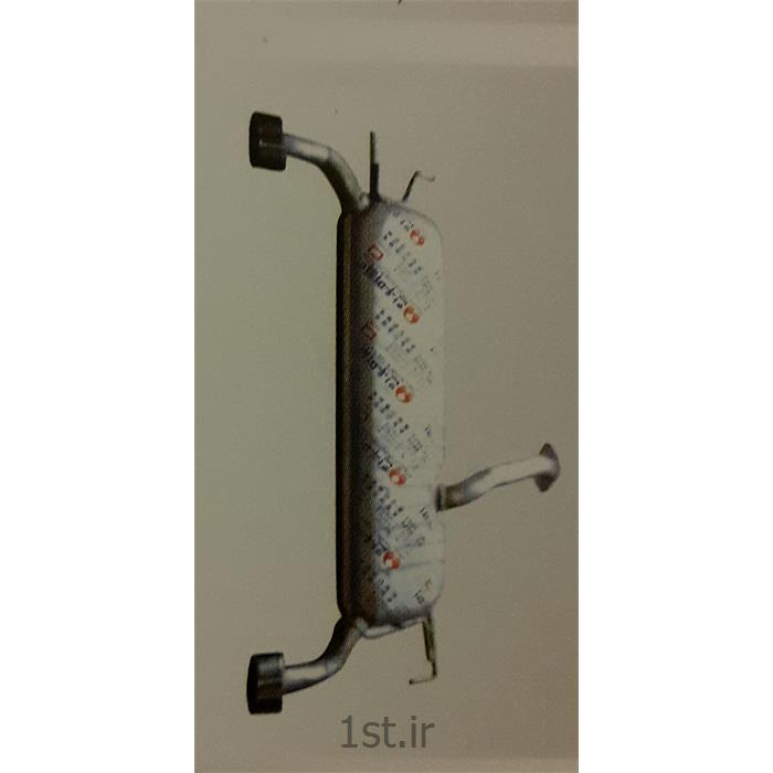 عکس سیستم اگزوزانبار عقب هیوندایی اگزوز توسان