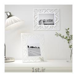 قاب عکس پلی استایرن سفید ایکیا Ikea Skurar