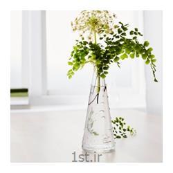 عکس گلدان شیشه ای و کریستالگلدان بلور ایکیا SNARTIG