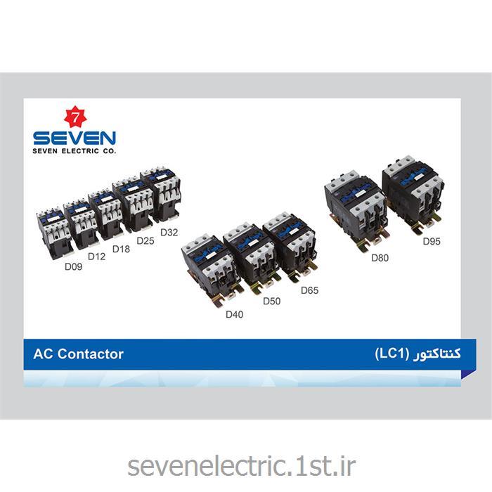 عکس کنتاکتور برق ( کلید خودکار قطع و وصل )کنتاکتور برق (AC Contactor (LC1