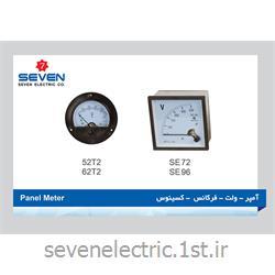 پنل متر آمپر-ولت-فرکانس-کسینوس Panel Meter
