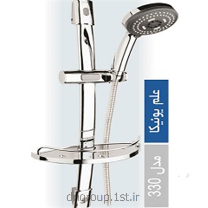 عکس لوازم شیرآلات حمام و دستشوییعلم یونیکا تک کاره دی ان مدل DN330