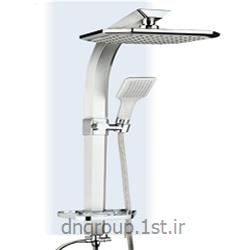 عکس لوازم شیرآلات حمام و دستشوییعلم یونیکا دوکاره (یونیورست) آلومنیومی دی ان مدل DN1100