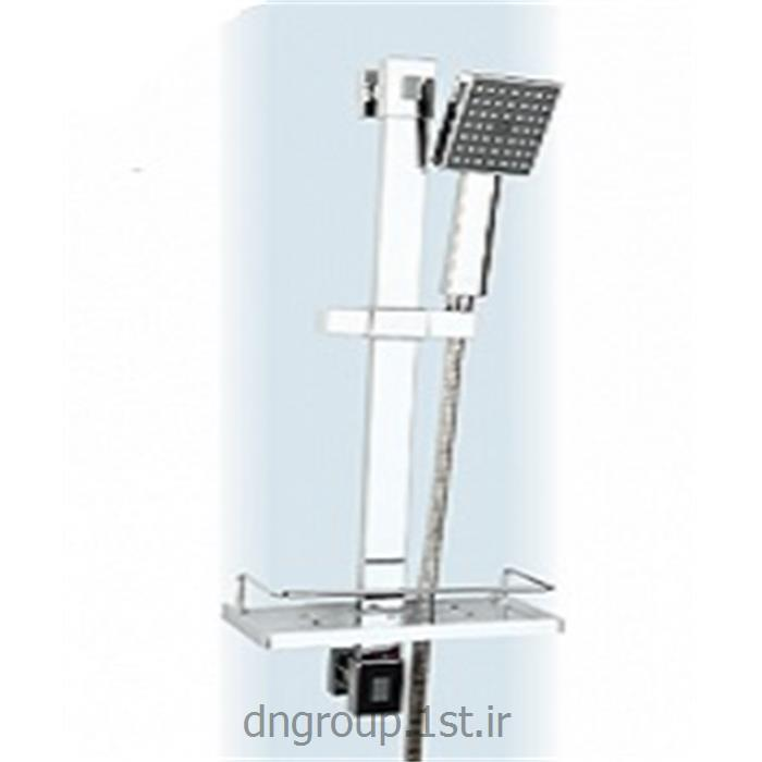 عکس لوازم شیرآلات حمام و دستشوییعلم یونیکا تک کاره فلت دی ان مدل DN339