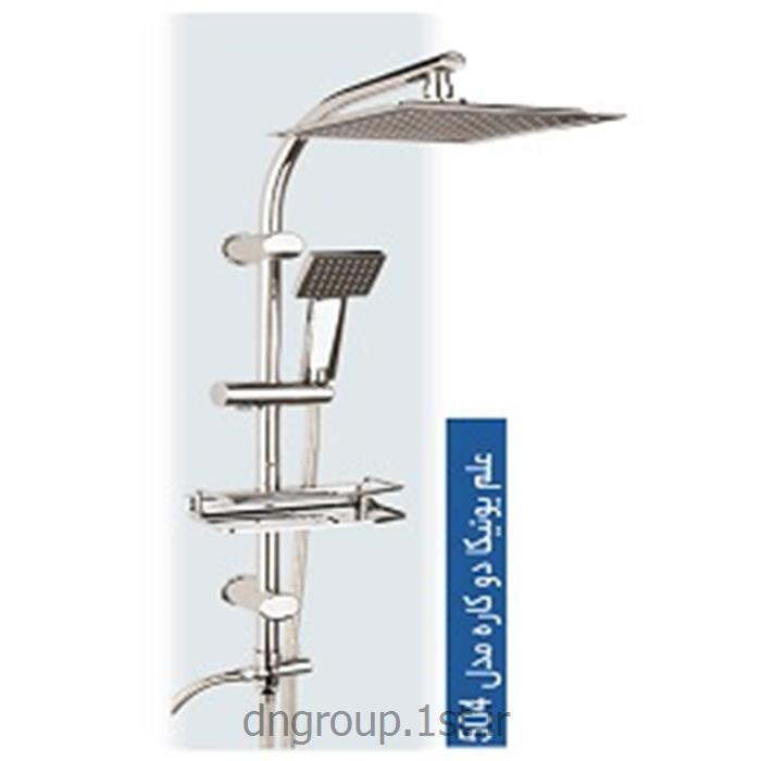 عکس لوازم شیرآلات حمام و دستشوییعلم یونیکا دوکاره (یونیورست) دی ان مدل DN504