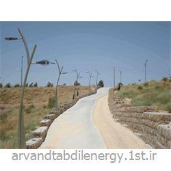 پایه چراغ طرح درختی فلزی