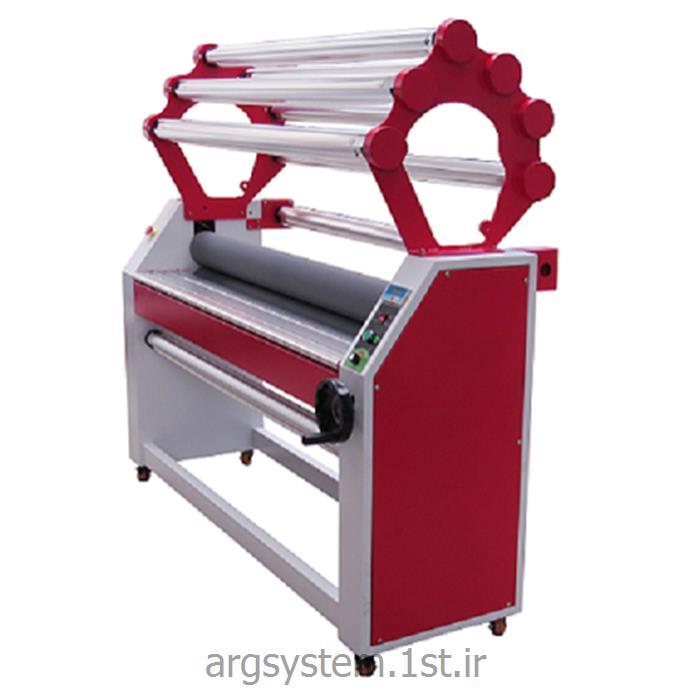 عکس دستگاه لمینیتور ( پرس کاغذ )لمینتور سرد و شاسی کش عرض 158 مدل 1700YT