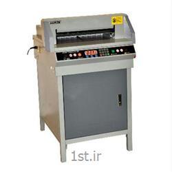 عکس ماشین آلات تولید محصولات کاغذیدستگاه برش برقی کاغذ مدل +G450VS