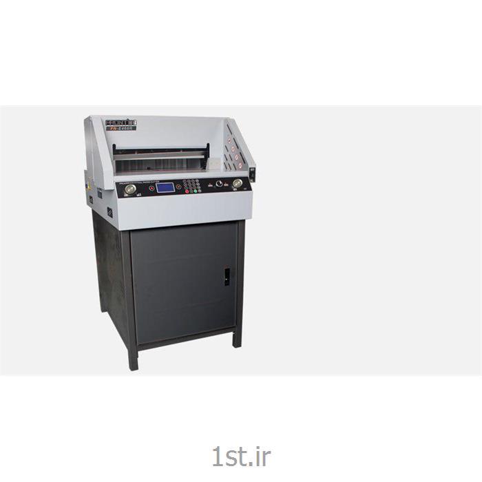 عکس ماشین آلات تولید محصولات کاغذیدستگاه برش برقی کاغذ مدل G460R