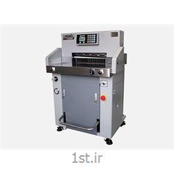 عکس ماشین آلات تولید محصولات کاغذیدستگاه برش هیدرولیک کاغذ مدل 520P