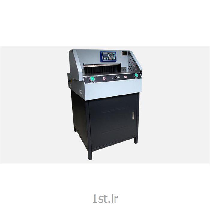 عکس ماشین آلات تولید محصولات کاغذیدستگاه برش برقی کاغذ مدل G490R