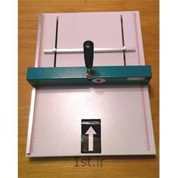 عکس ماشین آلات تولید محصولات کاغذیدستگاه خط تا دستی کاغذ