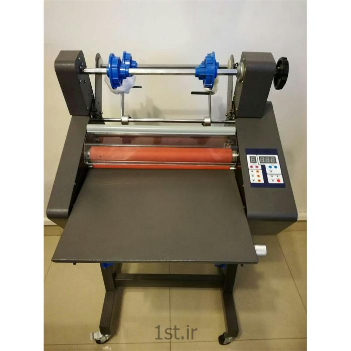 عکس ماشین آلات تولید محصولات کاغذیدستگاه سلفون کش لامینتور سرد و گرم مدل 380