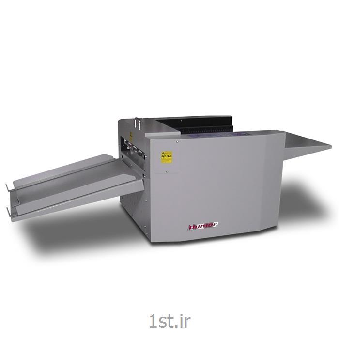 عکس ماشین آلات تولید محصولات کاغذیدستگاه خط زن - پرفراژ زن ماتریسی