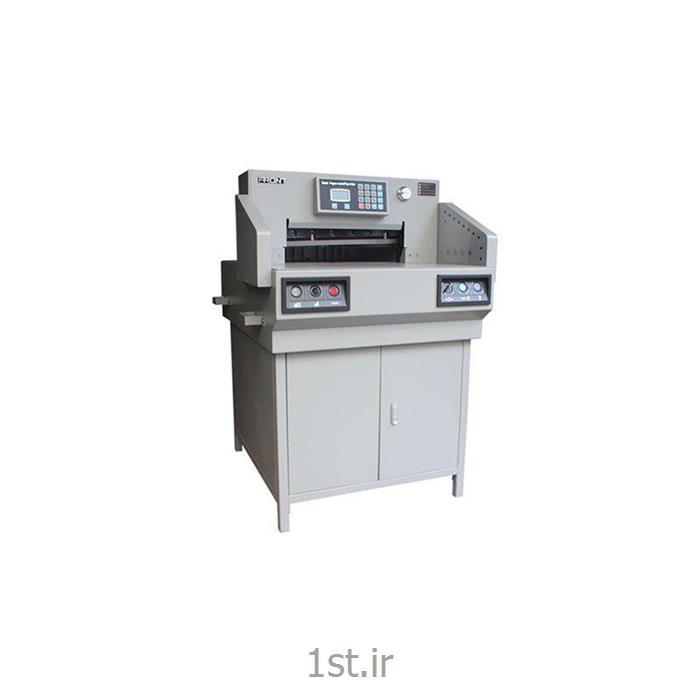 عکس ماشین آلات تولید محصولات کاغذیدستگاه برش برقی کاغذ مدل E650R