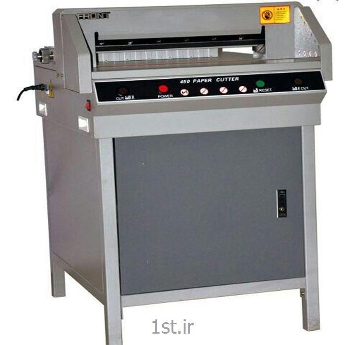 عکس ماشین آلات تولید محصولات کاغذیدستگاه برش برقی کاغذ مدل +G450V