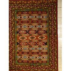فرش دست بافت عشایری ترکمن کد 4