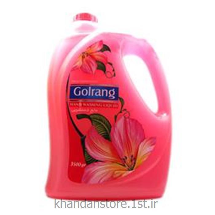 مایع دستشویی 4 لیتری گلرنگ