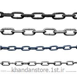 عکس زنجیرزنجیر آهنی نقره ای لوستر