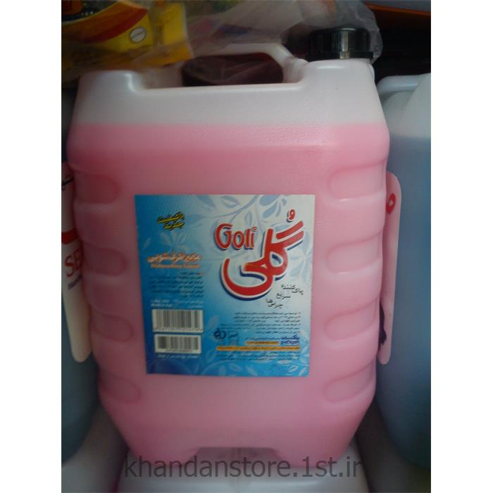 عکس شوینده و پاک کننده هامایع ظرفشویی 10 لیتری گلی