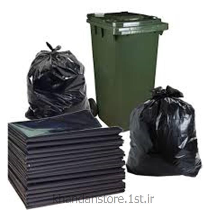 عکس سایر وسایل نظافت خانه و لوازم جانبیکیسه زباله 70*90 مشکی