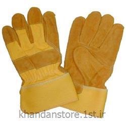 دستکش کف چرم