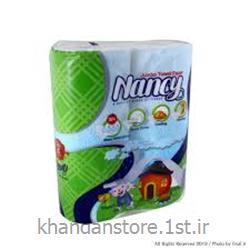 عکس دستمال کاغذیدستمال حوله ای نانسی