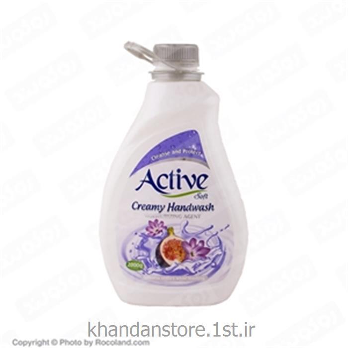 مایع دستشویی کرمی 2 لیتری اکتیو