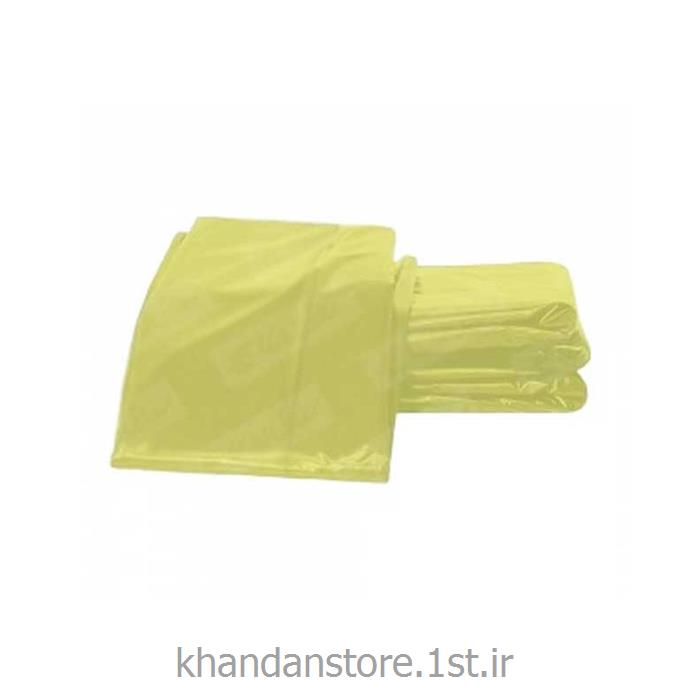 کیسه زباله 80*120 زرد